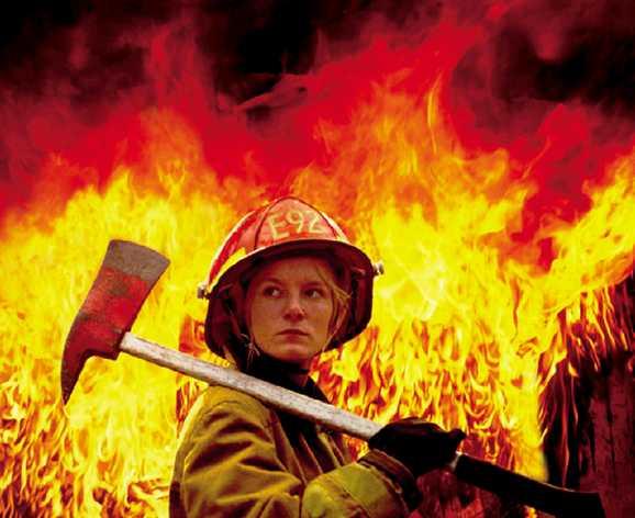Пожаров и не женская профессия