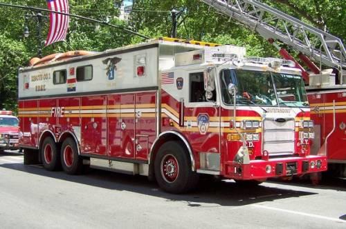 Кстати американские пожарные
